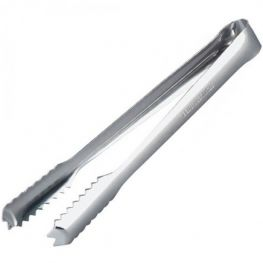 Stainless Steel Ice Tongs, 19cm
