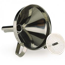 Clasica Stainless Steel Funnel With Strainer
