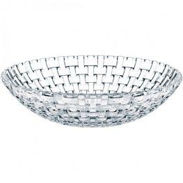 Bossa Nova Lead-Free Crystal Bowl, 30cm