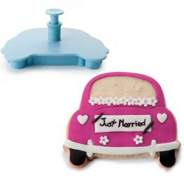 Accesorios Just Married Cookie Cutter