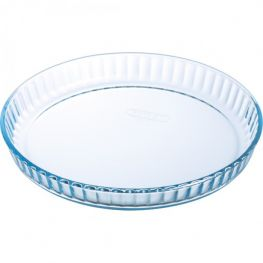 Bake & Enjoy Glass Quiche/Flan Dish, 28cm