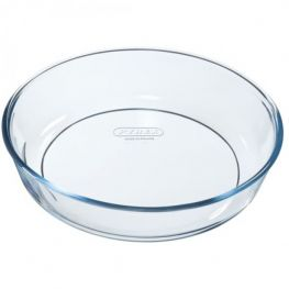 Bake & Enjoy Glass Cake Dish, 26cm