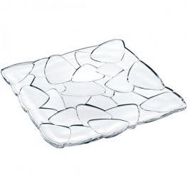 Petals Lead-Free Crystal Platter, 28cm