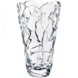 Petals Lead-Free Crystal Vase, 28cm