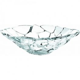 Petals Lead-Free Crystal Bowl, 34cm