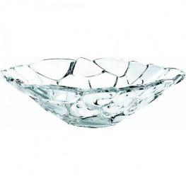 Petals Lead-Free Crystal Bowl, 34cm