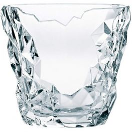 Sculpture Lead-Free Crystal Vase, 21cm