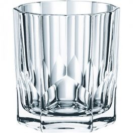 Aspen Lead-Free Crystal Whiskey Tumblers, Set Of 4