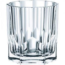 Aspen Lead-Free Crystal Whiskey Tumblers, Set Of 4