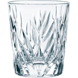 Imperial Lead-Free Crystal Whiskey Tumblers, Set Of 4