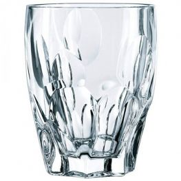 Sphere Lead-Free Crystal Whiskey Tumblers, Set Of 4