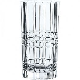 Square Lead-Free Crystal Vase, 23cm