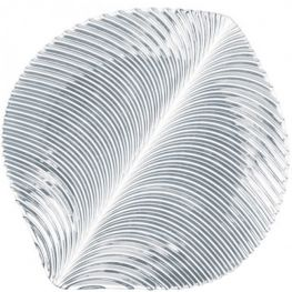 Mambo 27cm Lead-Free Crystal Platters, Set Of 2