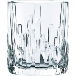 Shu Fa Lead-Free Crystal Whiskey Glasses, Set Of 4