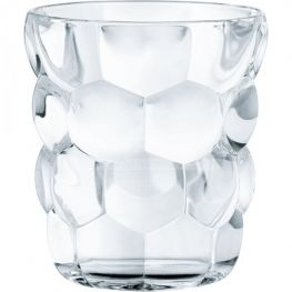 Bubbles Lead-Free Crystal Whiskey Tumblers, Set Of 4