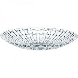 Bossa Nova Set Of 2 Lead-Free Crystal Bowls, 21cm
