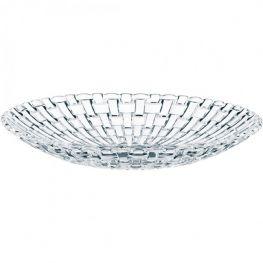 Bossa Nova Set Of 2 Lead-Free Crystal Bowls, 21cm