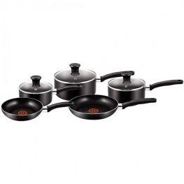 Essential Aluminium Cookware Set, 8pc