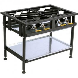 4 Boiler Gas Boiling Table, Staggered