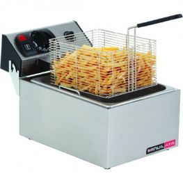 Single Pan Basket Fryer