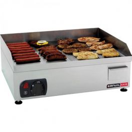 Electric Flat/Ribbed Top Grill, 60cm
