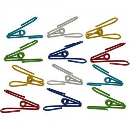 Wire Clips, Set Of 12