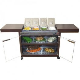 Premier Food Warmer Trolley