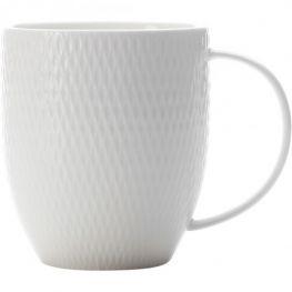 White Basics Diamonds Coupe Mug