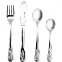 Bunny Children's Cutlery Set, 4pc