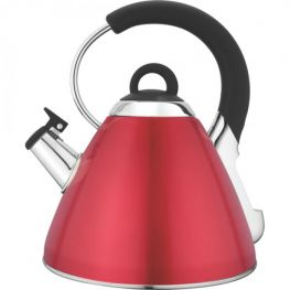 Whistling Kettle, Red, 2.2 Litre