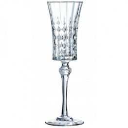 Lady Diamond Champagne Flutes, Set of 6