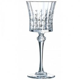 Lady Diamond White Wine Glasses, Set of 6