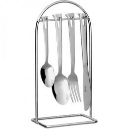 Essentials Linear Hanging Cutlery Set, 24pc