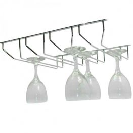 4 Row Glass Rack