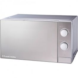 Silver Finish Manual Microwave Oven, 20 Litre