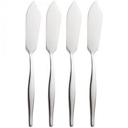 Butter Knife Set, 4pc, Slimline