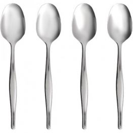 Teaspoon Set, 4pc, Slimline