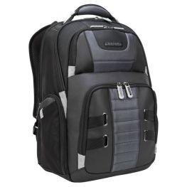 DrifterTrek 15.6-17.3 Inch Laptop Backpack with USB Power Pass-Thru, Black
